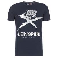衣服 男士 短袖体恤 Philipp Plein Sport BORIS 海蓝色 / 银灰色