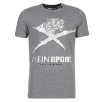 衣服 男士 短袖体恤 Philipp Plein Sport BORIS 灰色 / 银灰色