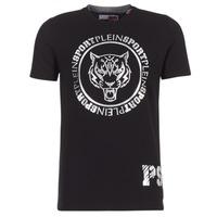 衣服 男士 短袖体恤 Philipp Plein Sport IVAN 黑色 / 银灰色