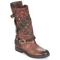 鞋子 女士 短筒靴 Airstep / A.S.98 VERTI Choco / Amaranto