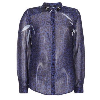 衣服 女士 衬衣/长袖衬衫 Guess BORICE 蓝色