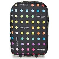 包 软面行李箱 David Jones PICOLO 35L 黑色 / 多彩