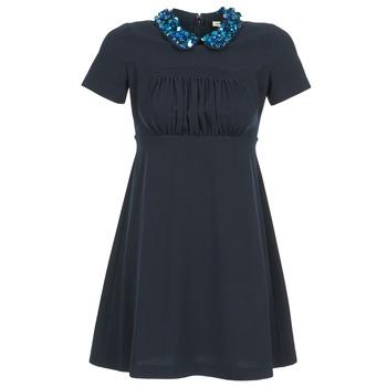 衣服 女士 短裙 Manoush COMMUNION 蓝色