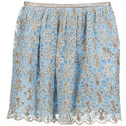 衣服 女士 半身裙 Manoush ARABESQUE 蓝色 / 金色