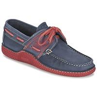 鞋子 男士 船鞋 TBS GLOBEK 蓝色 / 红色