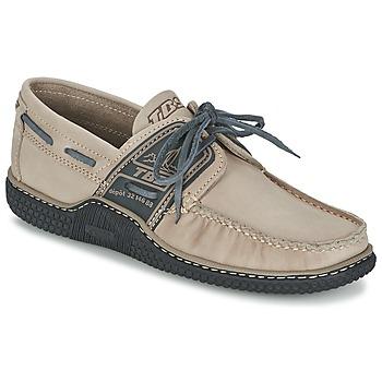 鞋子 男士 船鞋 TBS GLOBEK 米色