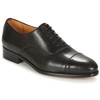 鞋子 男士 系带短筒靴 Brett & Sons FENOZEO 黑色