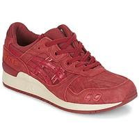鞋子 男士 球鞋基本款 Asics 亚瑟士 GEL-LYTE III 波尔多红