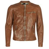 衣服 男士 皮夹克/ 人造皮革夹克 Redskins CROSS 棕色