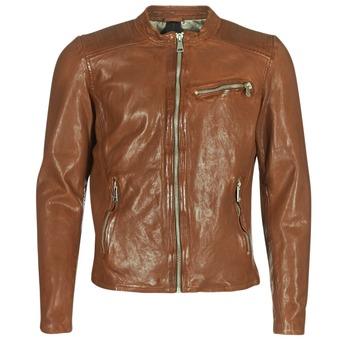 衣服 男士 皮夾克/ 人造皮革夾克 Redskins CROSS 棕色