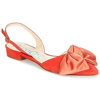 鞋子 女士 凉鞋 Paco Gil MARIE TOFLEX 红色