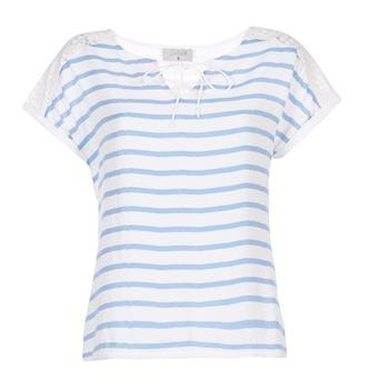 衣服 女士 女士上衣/罩衫 Casual Attitude IYUREOL 白色 / 蓝色