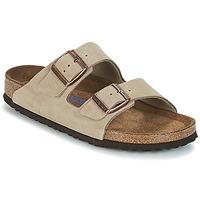 鞋子 女士 休闲凉拖/沙滩鞋 Birkenstock 勃肯 ARIZONA SFB 灰褐色