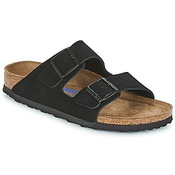 鞋子 女士 休閑涼拖/沙灘鞋 Birkenstock 勃肯 ARIZONA SFB 黑色