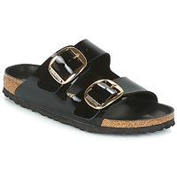 鞋子 女士 休闲凉拖/沙滩鞋 Birkenstock 勃肯 ARIZONA BIG BUCKLE 黑色