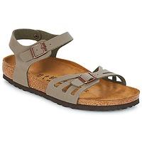 鞋子 女士 凉鞋 Birkenstock 勃肯 BALI 灰色