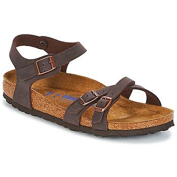 鞋子 女士 凉鞋 Birkenstock 勃肯 KUMBA SFB 棕色
