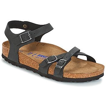 鞋子 女士 凉鞋 Birkenstock 勃肯 KUMBA SFB 黑色