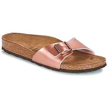 鞋子 女士 休闲凉拖/沙滩鞋 Birkenstock 勃肯 MADRID 玫瑰色