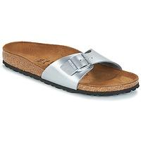 鞋子 女士 休閑涼拖/沙灘鞋 Birkenstock 勃肯 MADRID 銀灰色