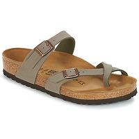 鞋子 女士 休闲凉拖/沙滩鞋 Birkenstock 勃肯 MAYARI 灰色