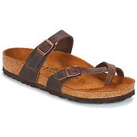 鞋子 女士 休闲凉拖/沙滩鞋 Birkenstock 勃肯 MAYARI 棕色