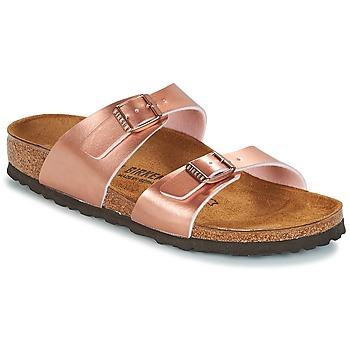 鞋子 女士 休闲凉拖/沙滩鞋 Birkenstock 勃肯 SYDNEY 玫瑰色 / 金色