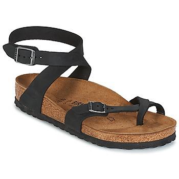 鞋子 女士 凉鞋 Birkenstock 勃肯 YARA 黑色