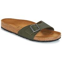 鞋子 男士 休闲凉拖/沙滩鞋 Birkenstock 勃肯 MADRID 绿色