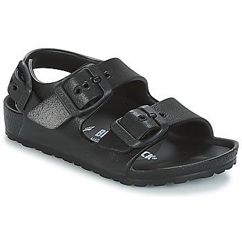 鞋子 男孩 凉鞋 Birkenstock 勃肯 MILANO-EVA 黑色