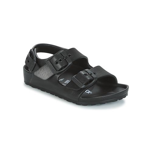 鞋子 儿童 凉鞋 Birkenstock 勃肯 MILANO-EVA 黑色