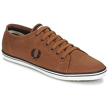 鞋子 男士 球鞋基本款 Fred Perry KINGSTON TWILL 棕色