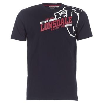 衣服 男士 短袖体恤 Lonsdale WALKLEY 黑色