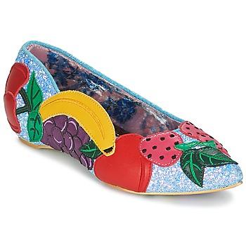 鞋子 女士 平底鞋 Irregular Choice BANANA BOAT 藍色