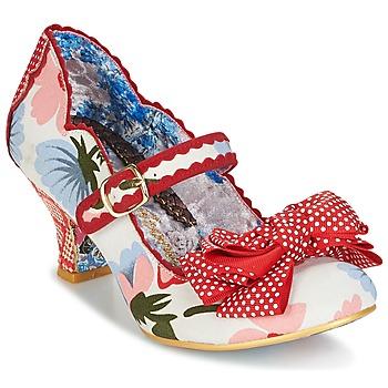 鞋子 女士 高跟鞋 Irregular Choice BALMY NIGHTS 白色 / 红色