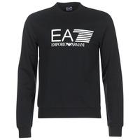 衣服 男士 卫衣 EA7 EMPORIO ARMANI TRAIN VISIBILITY 黑色