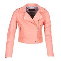 衣服 女士 皮夾克/ 人造皮革夾克 Oakwood YOKO 珊瑚色