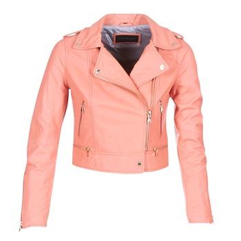 衣服 女士 皮夹克/ 人造皮革夹克 Oakwood YOKO 珊瑚色