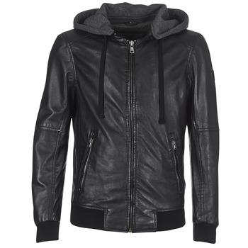 衣服 男士 皮夹克/ 人造皮革夹克 Oakwood JIMMY 黑色