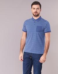 衣服 男士 短袖保罗衫 Casual Attitude INUTIOLE 蓝色 / 白色