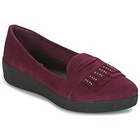 鞋子 女士 平底鞋 FitFlop LOAFER 紫羅蘭