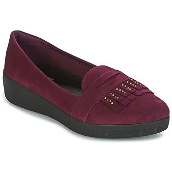鞋子 女士 平底鞋 FitFlop LOAFER 紫罗兰