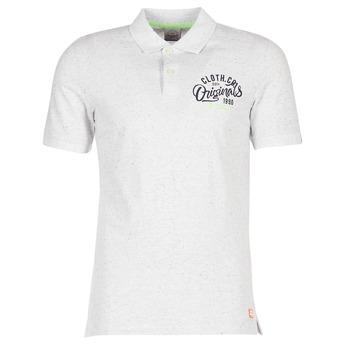 衣服 男士 短袖保罗衫 Jack & Jones 杰克琼斯 JORTRAST 白色