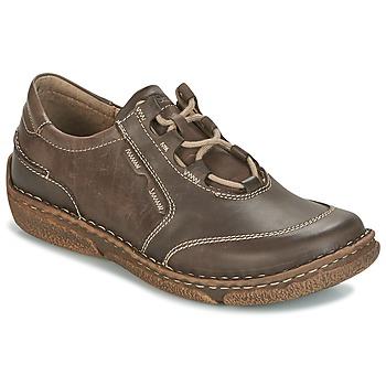 鞋子 女士 德比 Josef Seibel NEELE 28 棕色 / 绿色