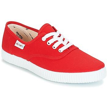鞋子 球鞋基本款 Victoria 维多利亚 INGLESA LONA 红色