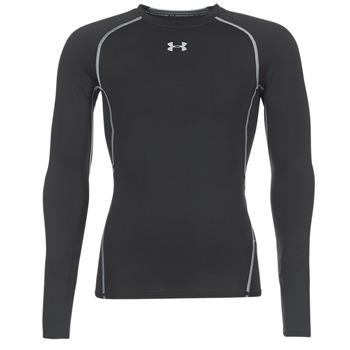 衣服 男士 长袖T恤 Under Armour 安德玛 LS COMPRESSION 黑色