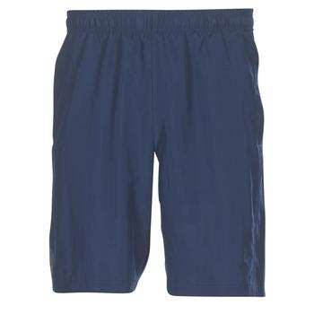 衣服 男士 短褲&百慕大短褲 Under Armour 安德瑪 WOVEN GRAPHIC WORDMARK SHORT 藍色