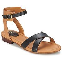 鞋子 女士 凉鞋 Clarks 其乐 VIVECA ZEAL 黑色