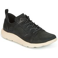 鞋子 男士 球鞋基本款 Timberland 添柏岚 FLYROAM LEATHER OXFO 黑色