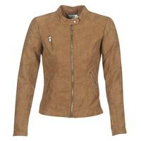 衣服 女士 皮夹克/ 人造皮革夹克 Only STEADY 棕色